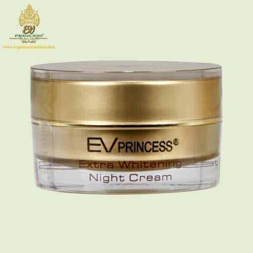 ev princess extra whitening night cream