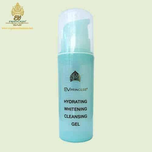 ev princess hydrating whitening cleansing gel